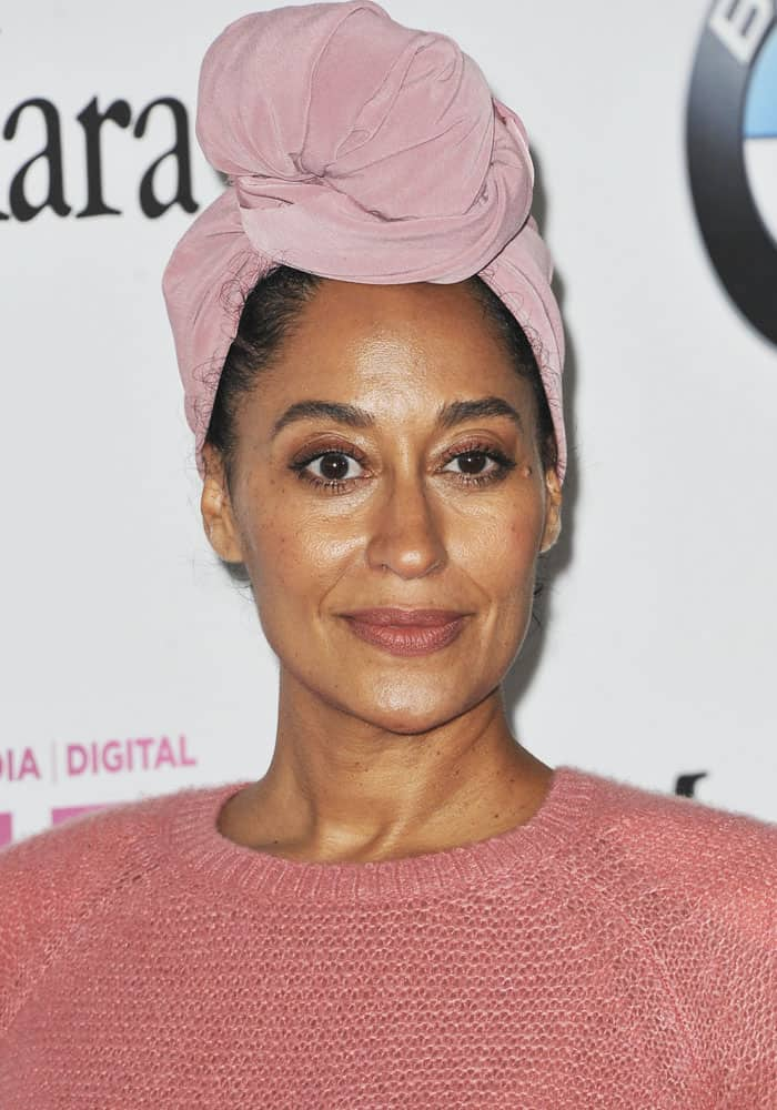 "Tracee Ellis Ross at the ""2017 Women In Film Crystal + Lucy Awards"" held at The Beverly Hilton Hotel in Los Angeles on June 14, 2017"