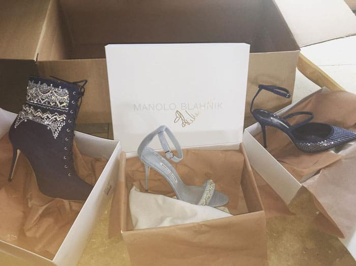 Zendaya uploads a photo of Rihanna's gifts in 2016
