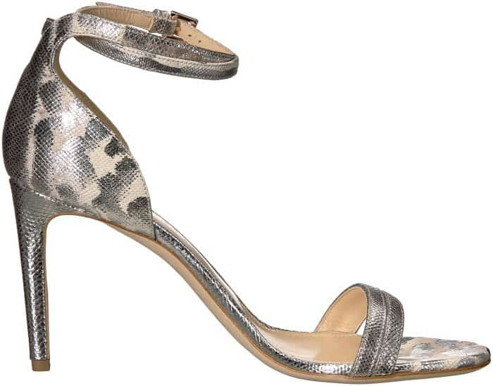 "Chloe Gosselin ""Narcissus"" sandals in beige snake"