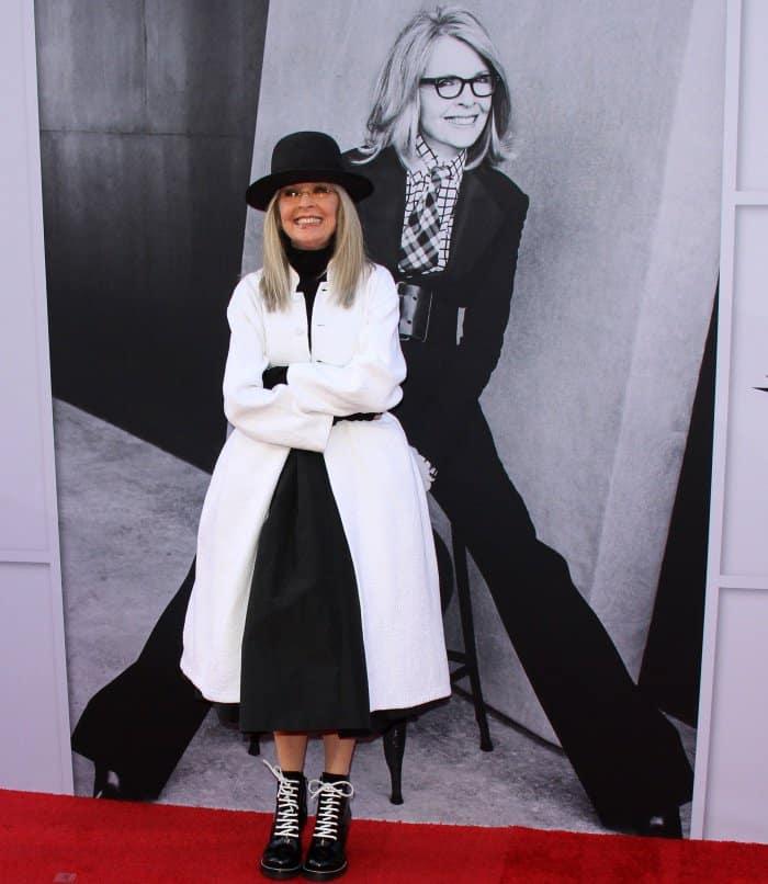 Diane Keaton at the 45th American Film Institute Life Achievement Award Gala Tribute