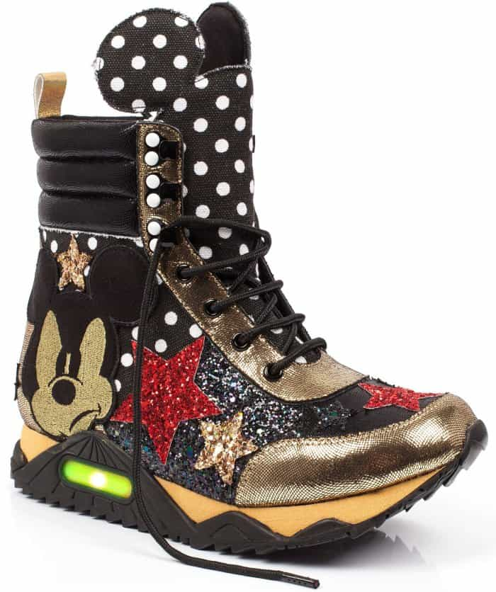 "Irregular Choice ""Gosh"" high-top sneakers"