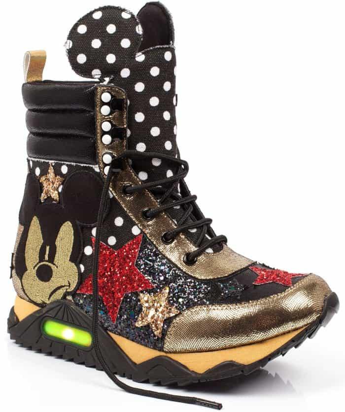 """Irregular Choice """"Gosh"""" high-top sneakers"""