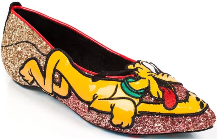Irregular Choice Pluto flats