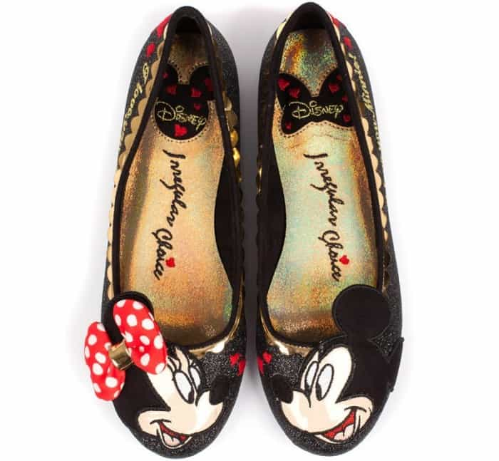 "Irregular Choice ""Why Hello"" flats"