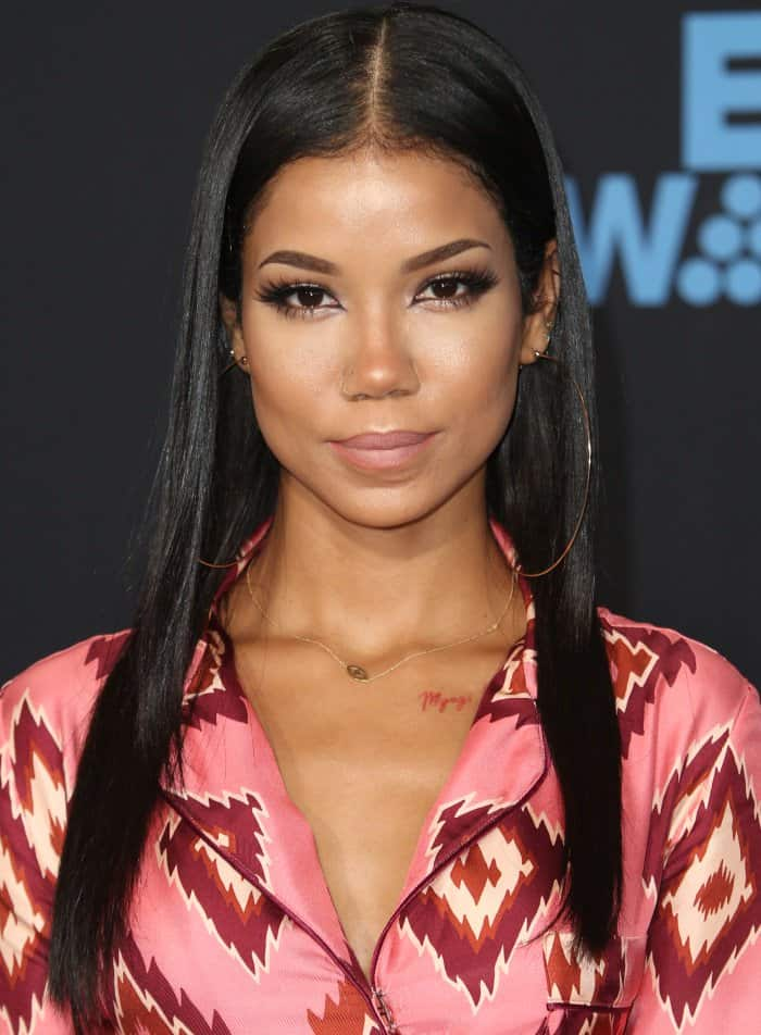 Jhene Aiko at the 16th Annual BET Awards held at the Microsoft Theater in Los Angeles, California, on June 25, 2017