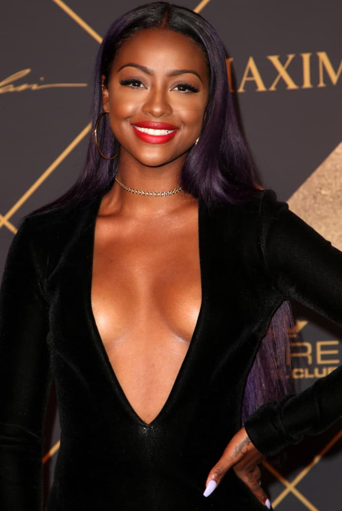 Justine Skye at the 2017 Maxim Hot 100 party at the Hollywood Palladium in Los Angeles, California, on June 24, 2017