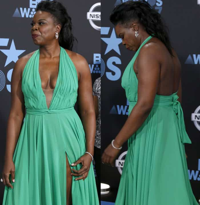 Leslie Jones at the 16th Annual BET Awards held at the Microsoft Theater in Los Angeles, California, on June 25, 2017