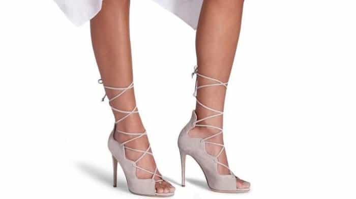 """M. Gemi """"Marea"""" Sandals in Dove"""
