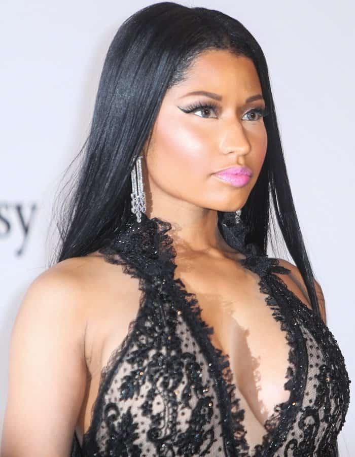 4c614e24d4a Nicki Minaj at the 24th annual amfAR gala during the 70th Cannes Film  Festival held at