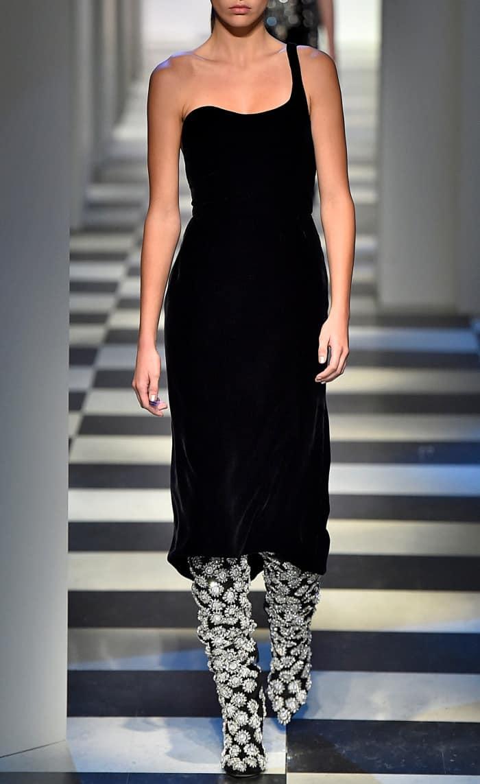Oscar de la Renta Fall/Winter 2017 runway presentation during New York Fashion Week