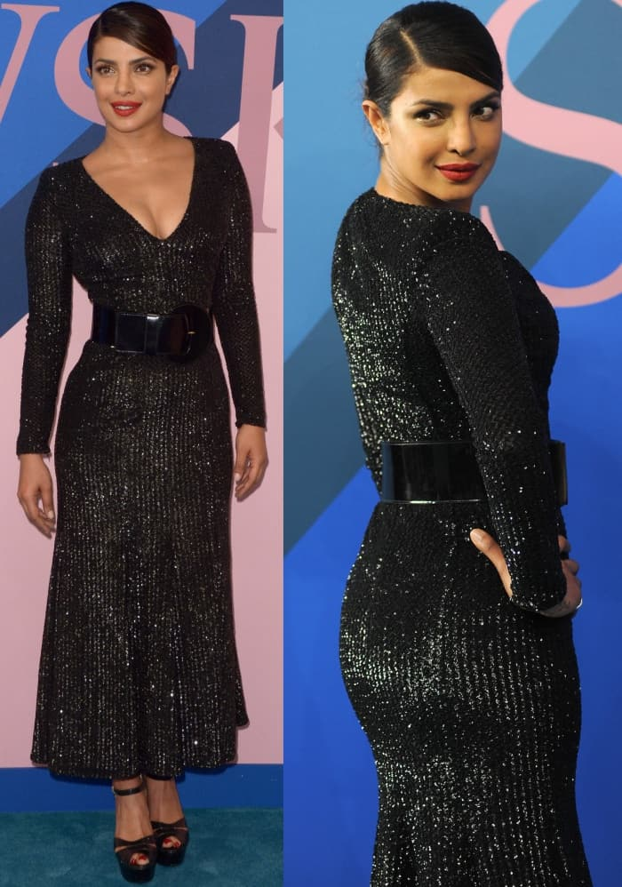 Priyanka Chopra in head-to-toe Michael Kors Collection