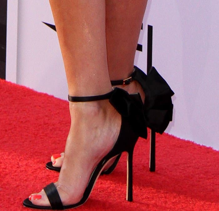 """Reese Witherspoon wearing Jimmy Choo """"Kelly"""" sandals at the 45th American Film Institute Life Achievement Award Gala Tribute to Diane Keaton"""