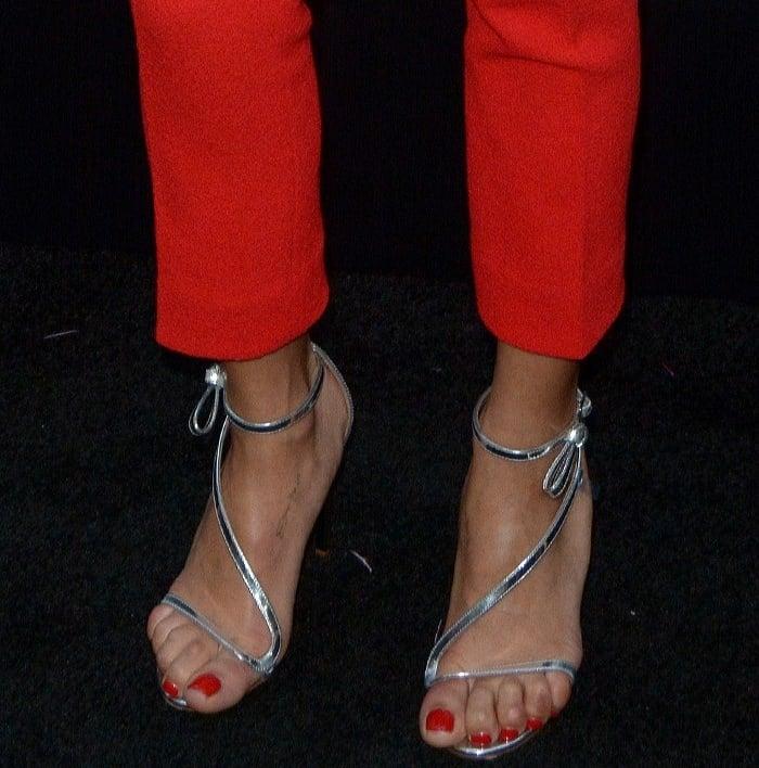 Zoe Kravitz Oscars Bra: Zoe Kravitz At 'Rough Night' Premiere In Oscar De La Renta