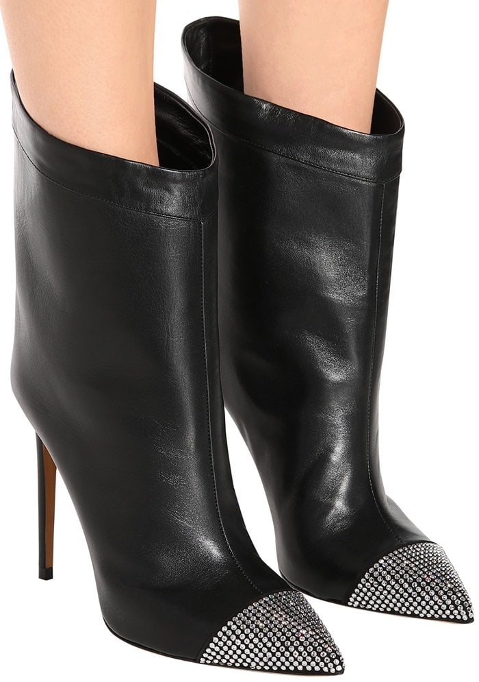 Cha Cha leather ankle boots