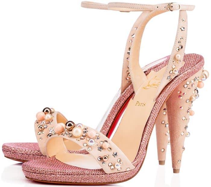 "Christian Louboutin ""Gelila"" embellished sandals"