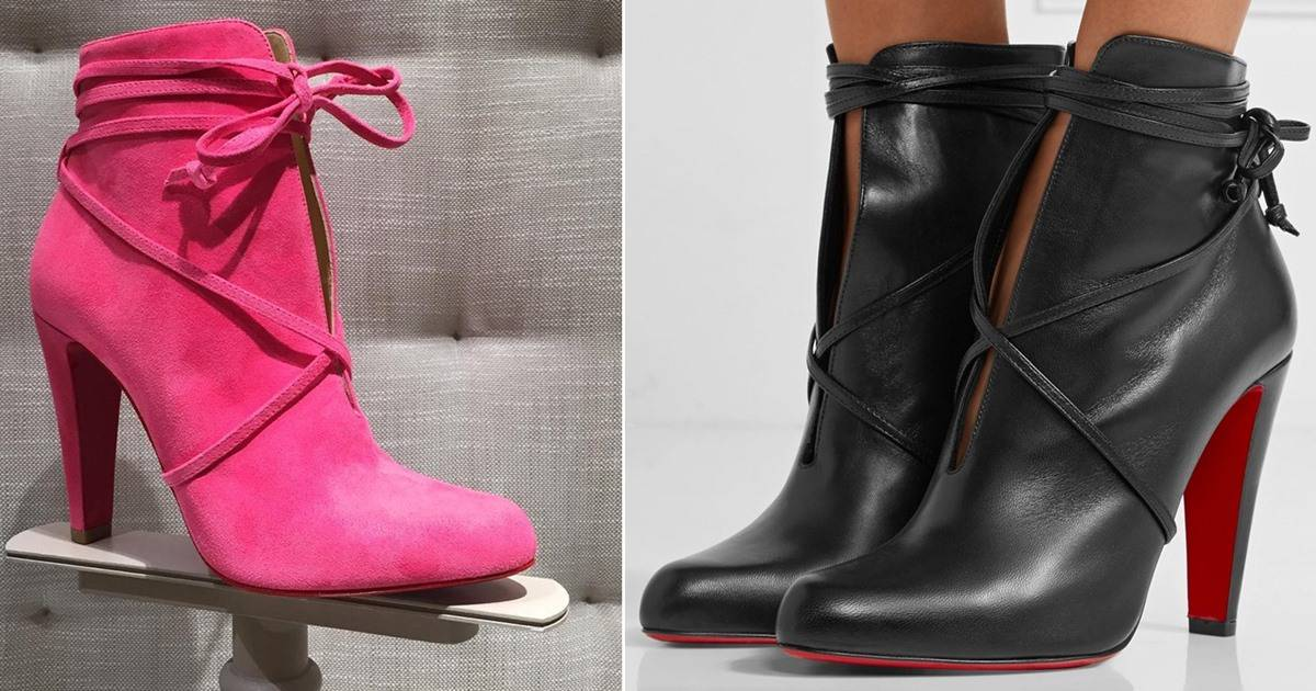 Neiman Marcus Wedding Gifts: S.I.T. Rain Split Leather Booties Secured With Wraparound