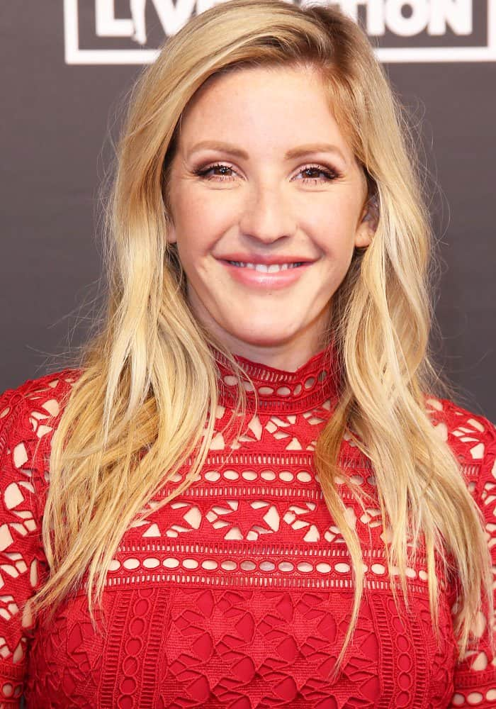 Ellie Goulding at the Global Citizen Festival at Barclaycard Arena, Hamburg in Germany on July 7, 2017