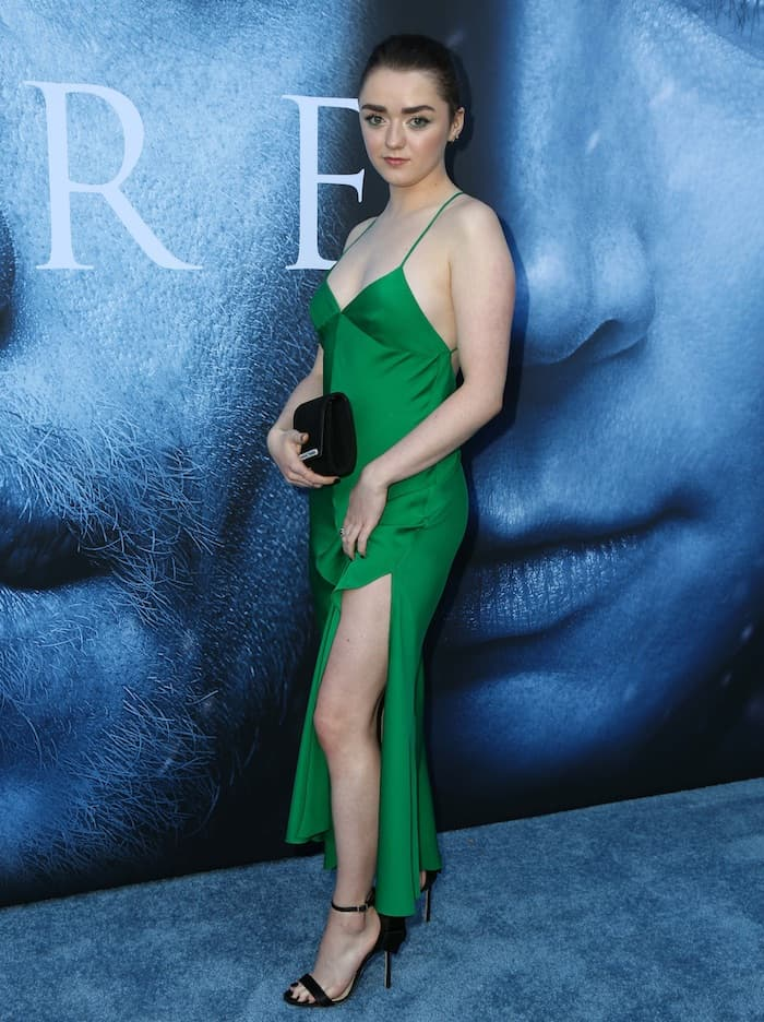 Maisie Williams made her professional acting debut as Arya Stark in the HBO fantasy television series Game of Thrones