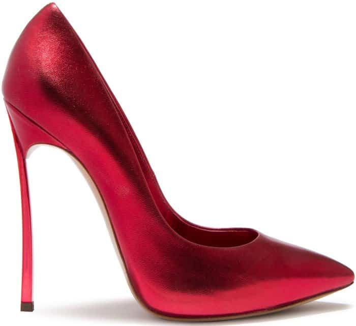 "Casadei ""Blade"" Pumps in Flame"