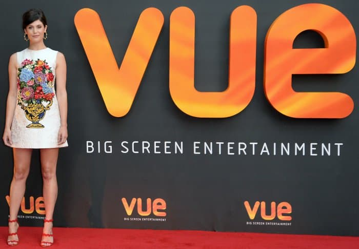 Gemma Arterton at the Vue West End Cinema Re-Opening in London