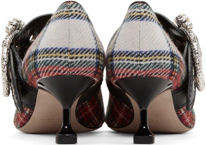 Celebrities Wear Embellished Heels At Miu Miu Cruise 2018