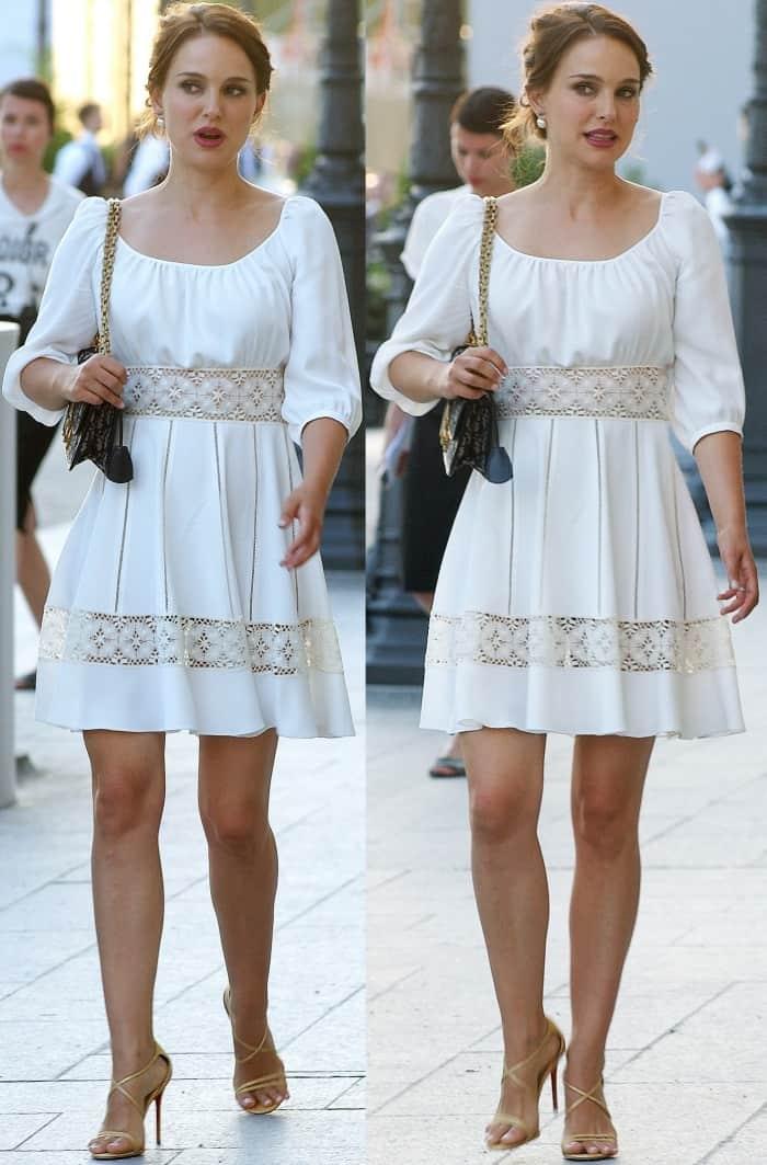 """Natalie Portman attending the """"Christian Dior, Couturier Du Reve"""" exhibition launch"""