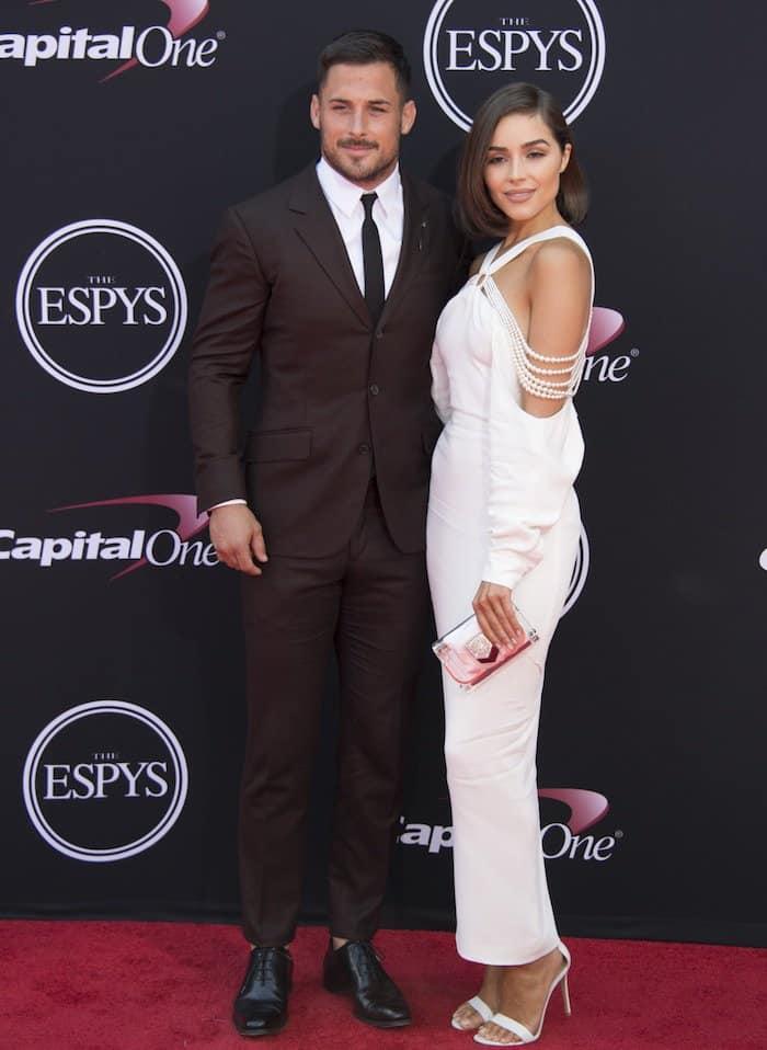 Olivia Culpo attended the event to support boyfriend Danny Amendola