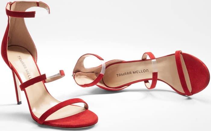 Tamara Mellon 'Reverse Frontline' Sandals