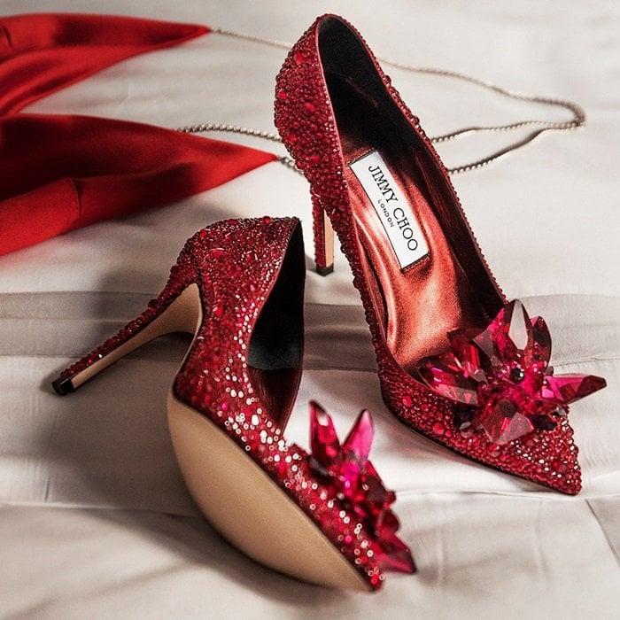 700e40d4baf Cinderella Shoes by Jimmy Choo  Live Like a Fairy Tale Character