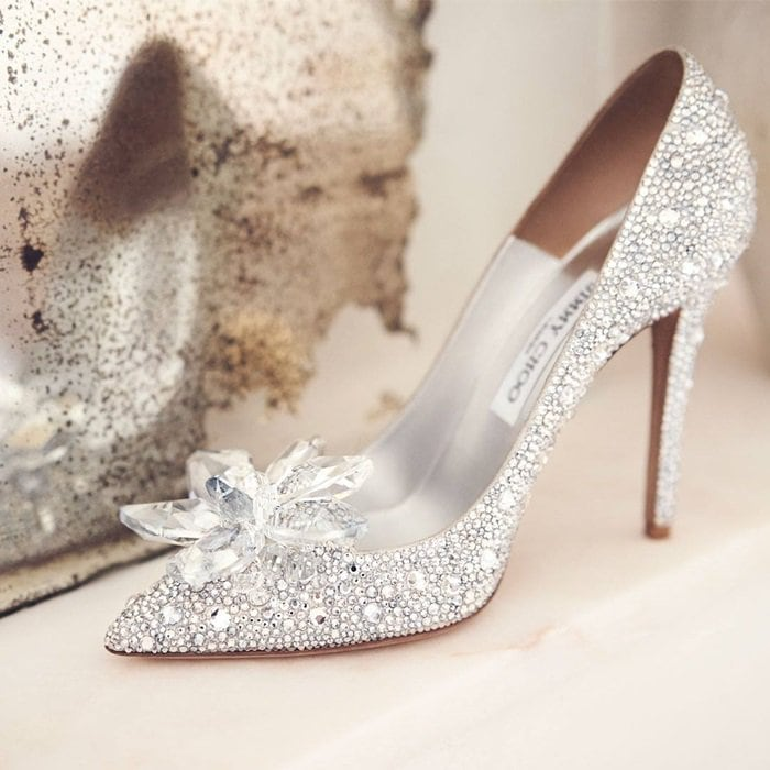 73ab36f2446a Cinderella Shoes by Jimmy Choo  Live Like a Fairy Tale Character