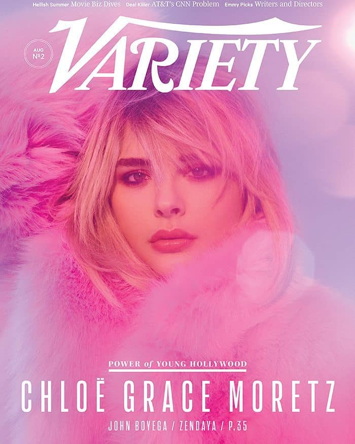 "Shared by Variety with the caption ""COVER STORY: Why A Break From Hollywood Was The Best Thing That Happened To @chloegmoretzClick the link in our profile to read the full story (Photo by @zoeygrossman)"""