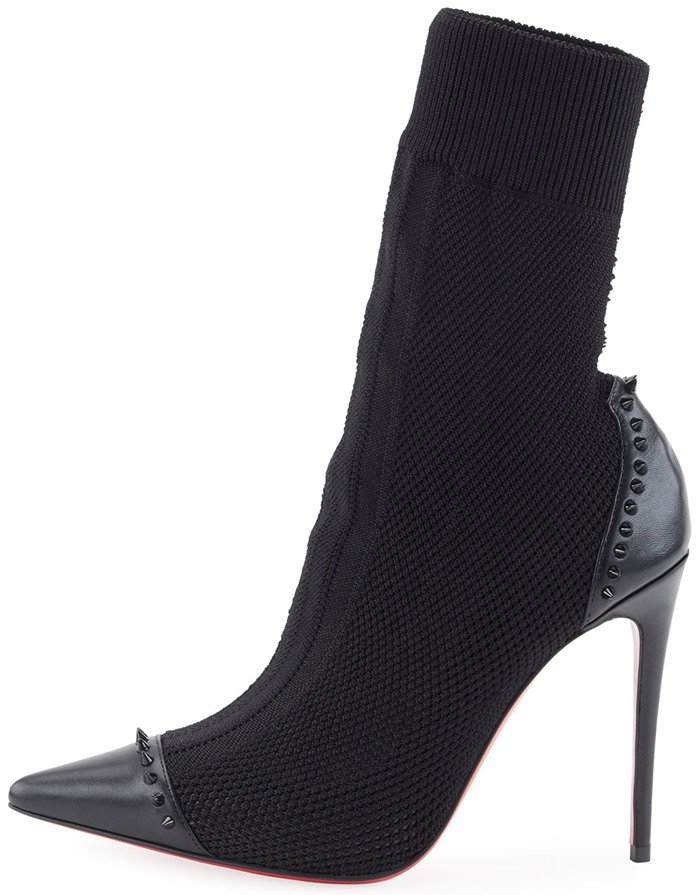 uk availability 36b9a 639cf Dovi Dova Sock/Stiletto Hybrid Booties by Christian Louboutin