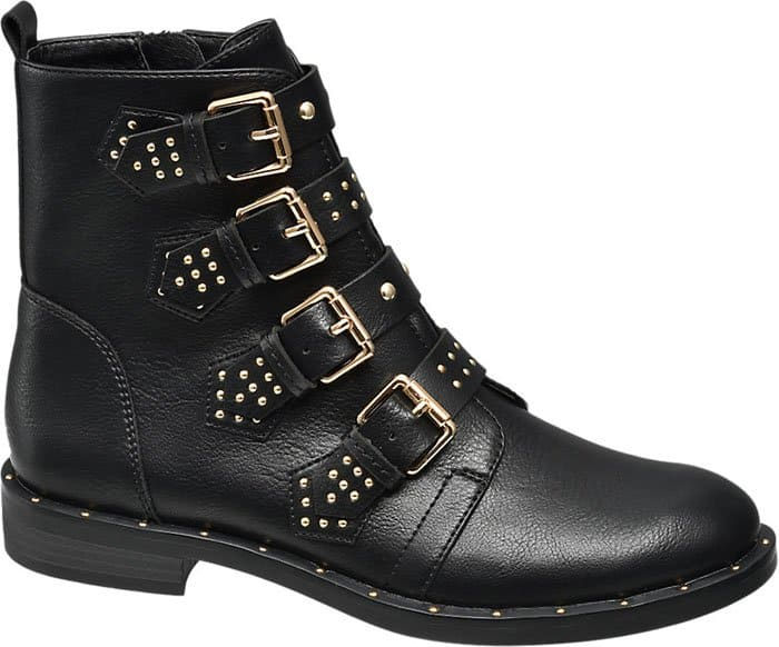 Deichmann Star Collection buckle detail boot