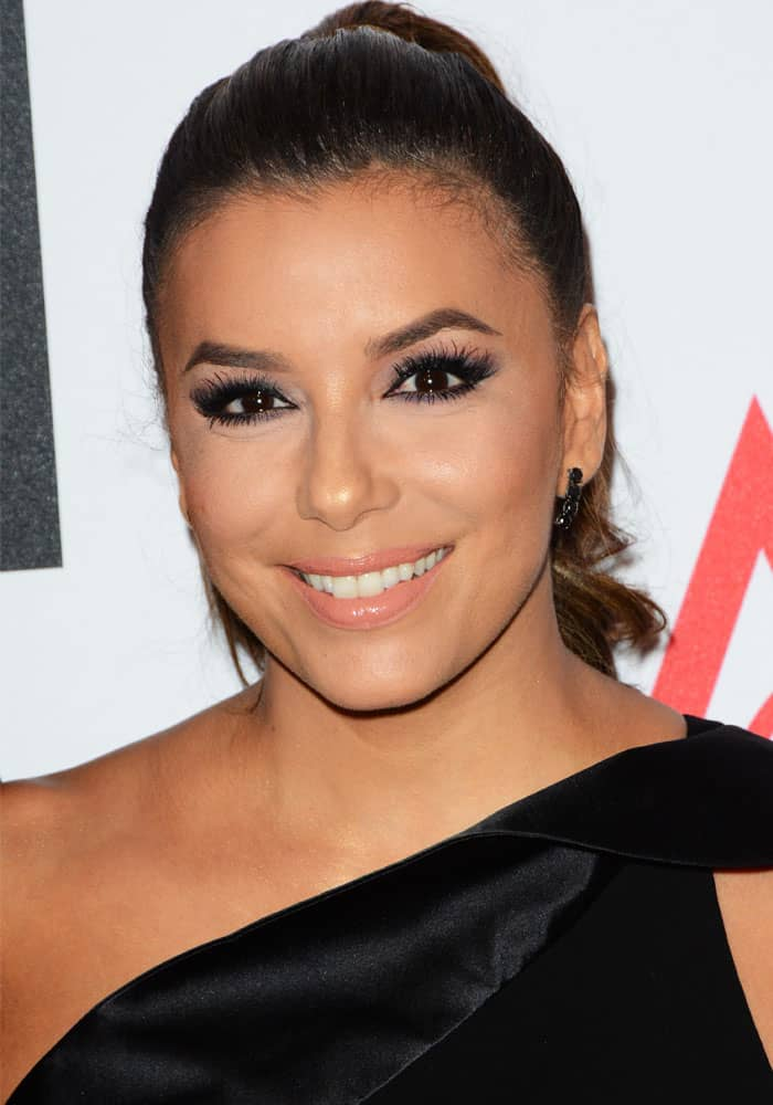 Eva Longoria at the 21st Annual Ace Awards in New York on August 7, 2017
