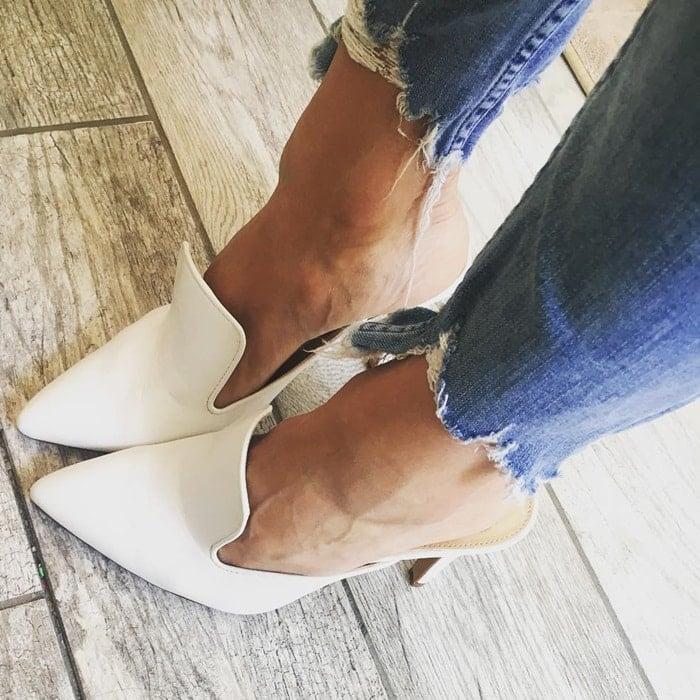 High-Heel Pointy-Toe Emberton Mules