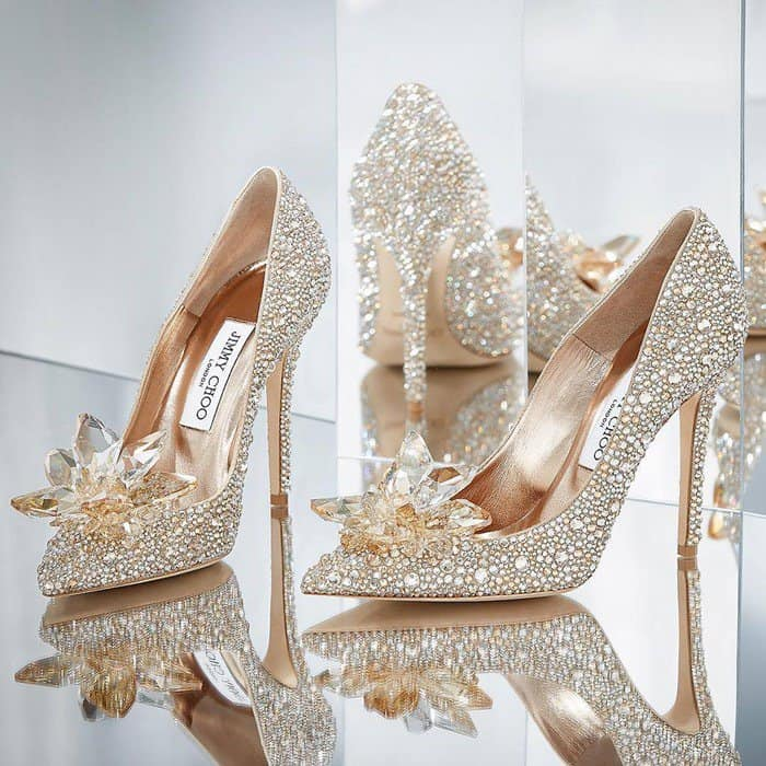 Live Like a Fairytale Character with Jimmy Choo Cinderella Collection