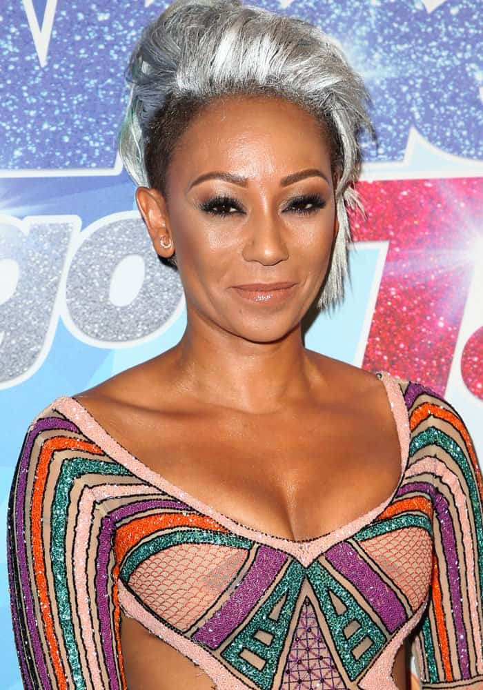 "Mel B at ""America's Got Talent"" season 12 quarter final live show in Los Angeles on August 22, 2017"