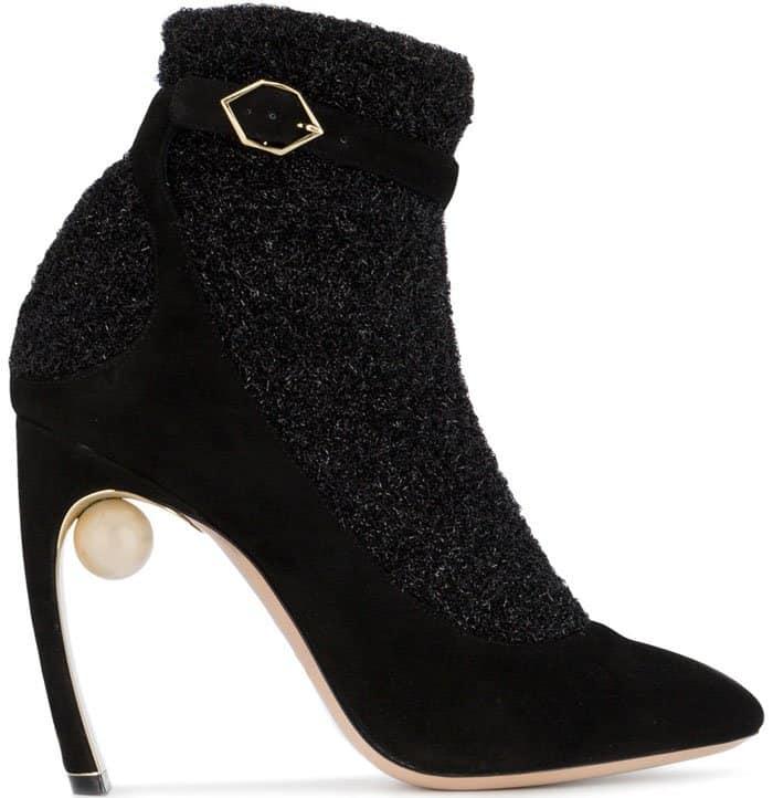 """Nicholas Kirkwood """"Lola"""" Sock Boots"""