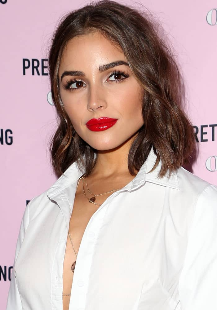 Olivia Culpo at thePrettyLittleThing X Olivia Culpo launch at the Liaison Lounge in Los Angeles, California on August 17, 2017