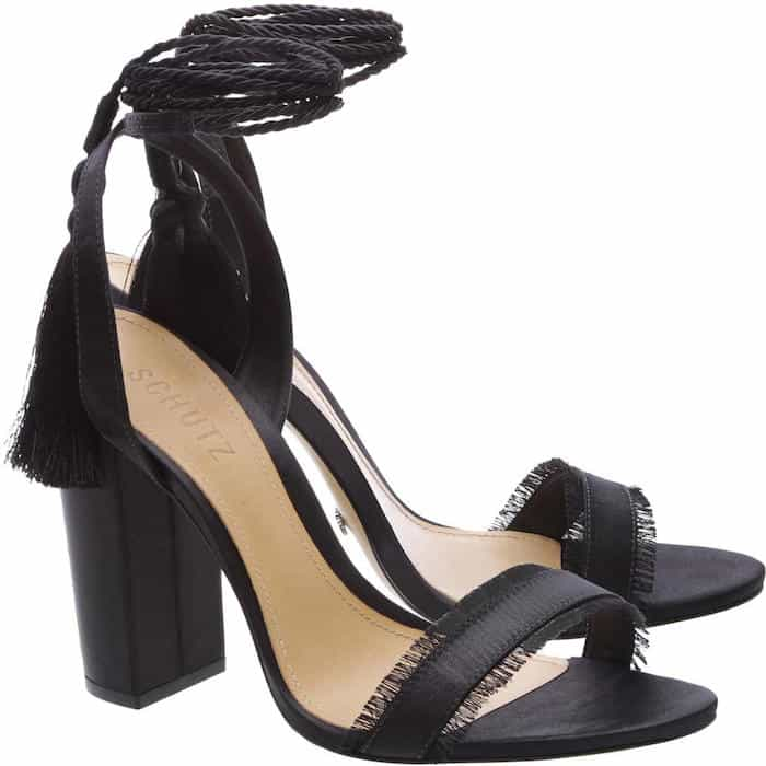 Schutz primm tassel sandals