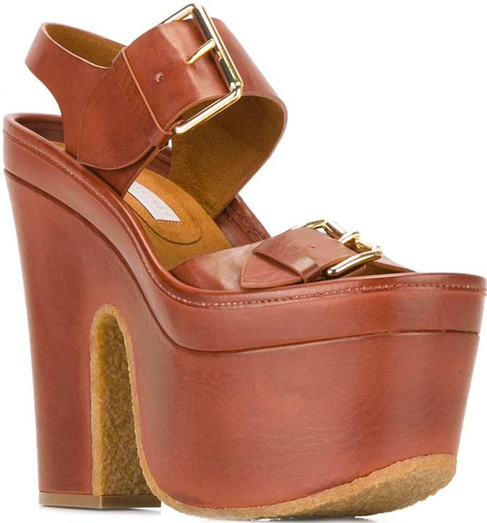 Stella McCartney Buckled Platform Sandals