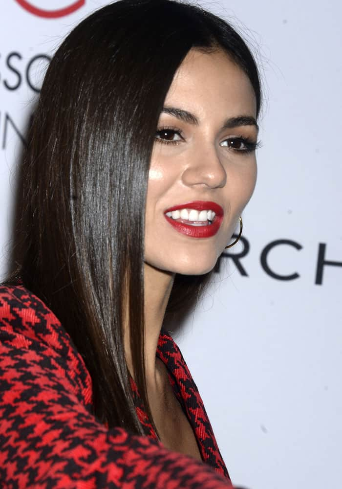 Victoria Justice at the Accessories Council's 21st annual ACE Awards held at Cipriani 42nd Street in New York City on August 7, 2017