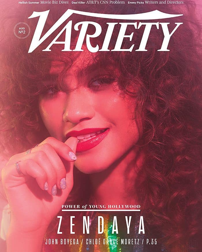 Shared by Variety with the caption :COVER STORY: How @zendaya Conquered The Movies - Just Like Everything ElseClick the link in our profile to read the full story (Photo by @zoeygrossman):