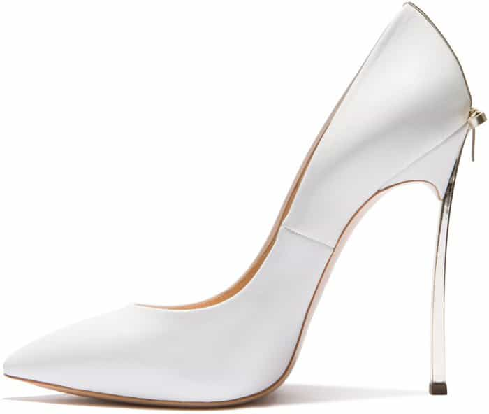 """Casadei """"Blade"""" pumps with bow detail"""
