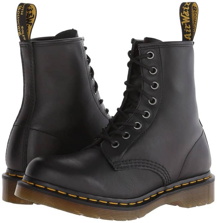 "Dr. Martens ""1460"" Boots in Black Smooth"