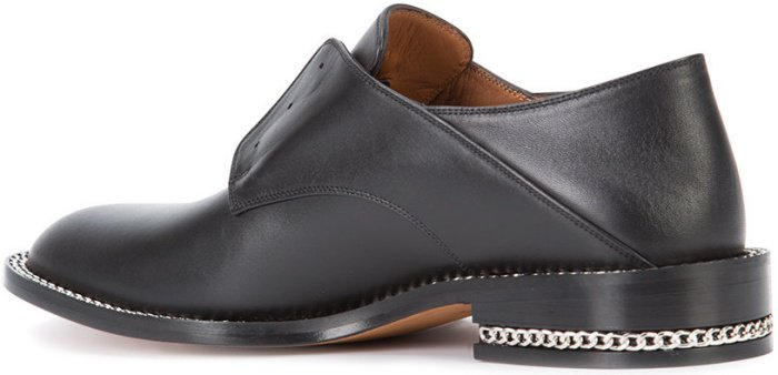 Givenchy chain-trim brogues
