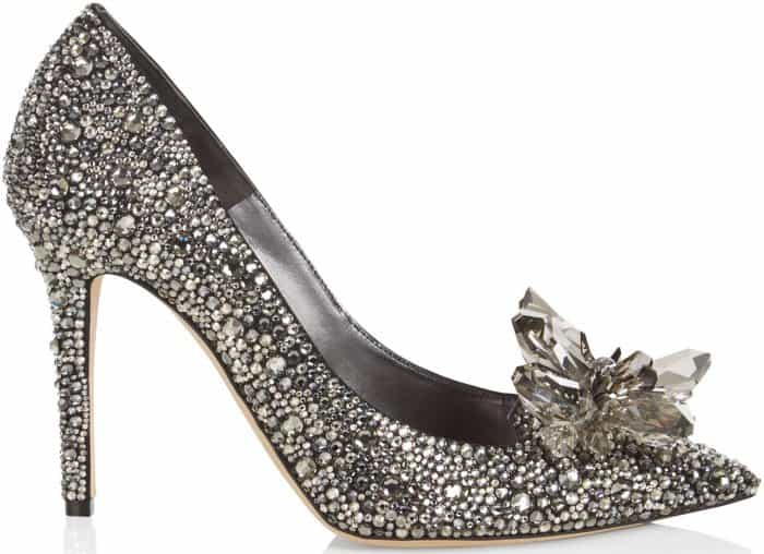 Cinderella Shoes By Jimmy Choo Live Like A Fairy Tale Character