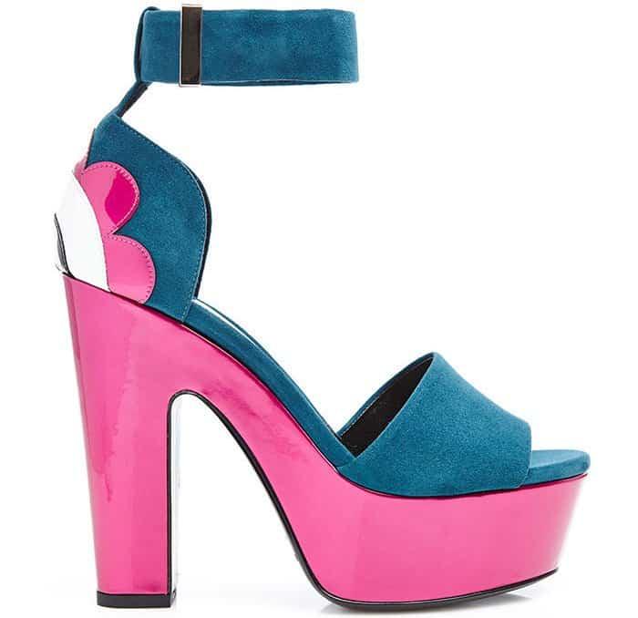 "Nicholas Kirkwood ""Pollypetal"" platform sandals"