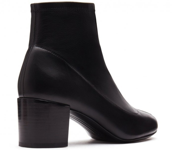 "Stella Luna ""Zipper 50"" booties in black"