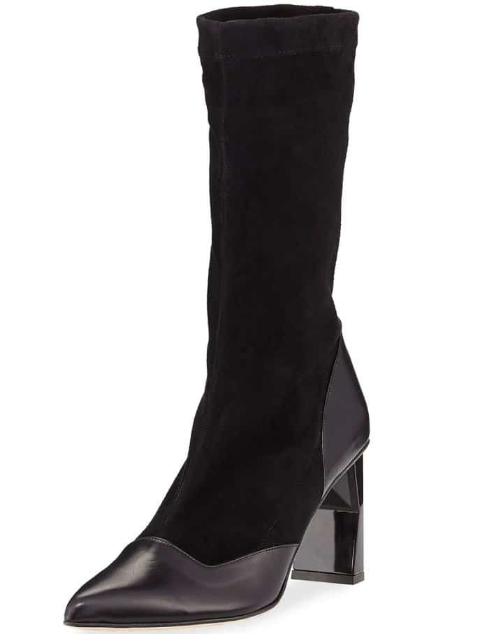 "Tibi ""Felice"" calf-high booties"